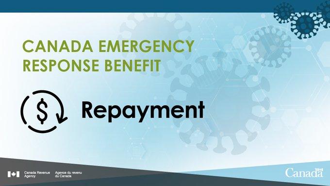 Repaying Canada Emergency Response Benefit